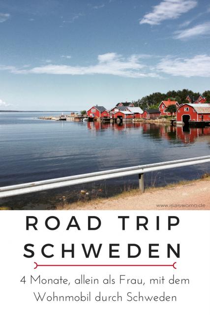 Camping in Schweden, als Frau 4,5 Monate auf Wohnmobil Road Trip