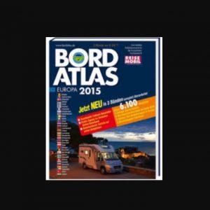Wohnmobil Stellplätze finden... mit dem Bord Atlas