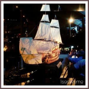 Modell der Vasa im super tollen Vasa Museum