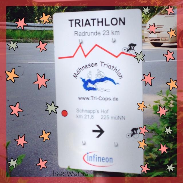 Triathlon am Möhnesee