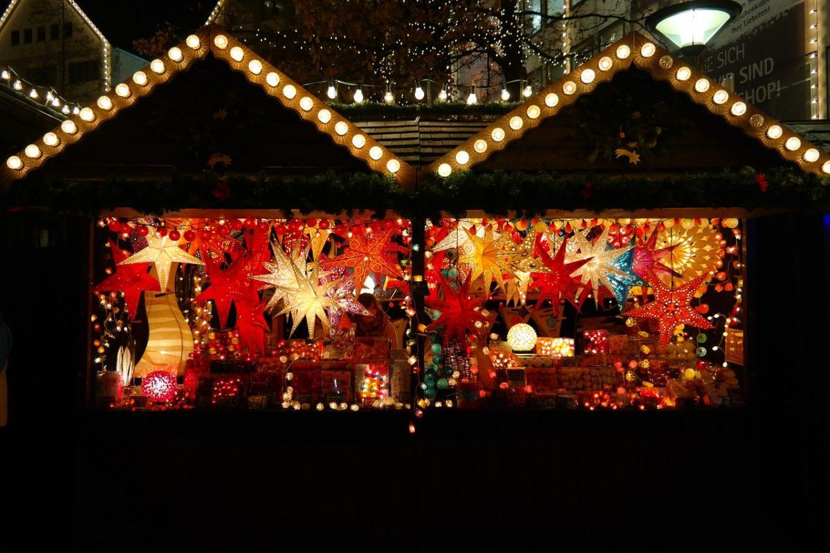 Mit dem Wohnmobil zum Weihnachtsmarkt