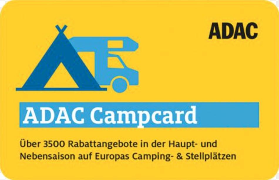 Campingkarten - ADAC - die besten Rabattkarten für Camper