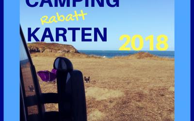 Campingkarten 2018, welche passt am besten ?