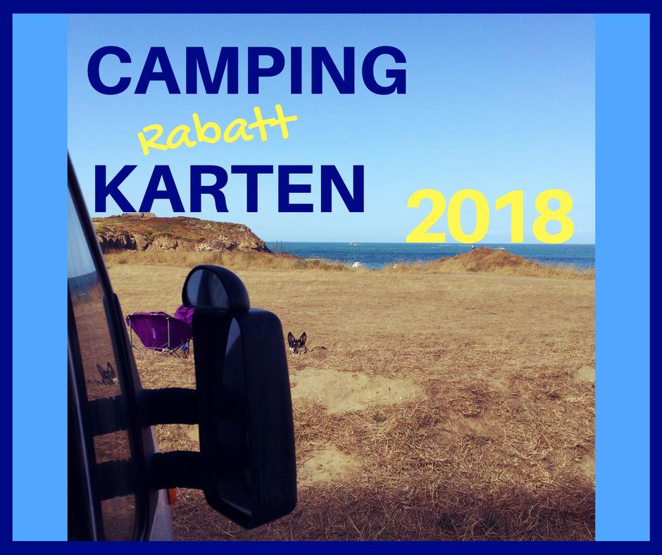 Campingkarten 2018 - Welche Rabattkarte ist die richtige für Dich?