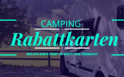 Campingkarten 2019, welche passt am besten ?