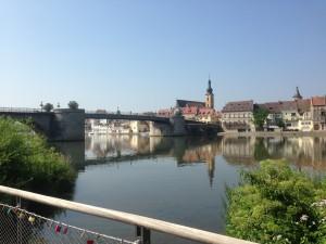 Kitzingen, auch für Alleinfahrer besonders schön!