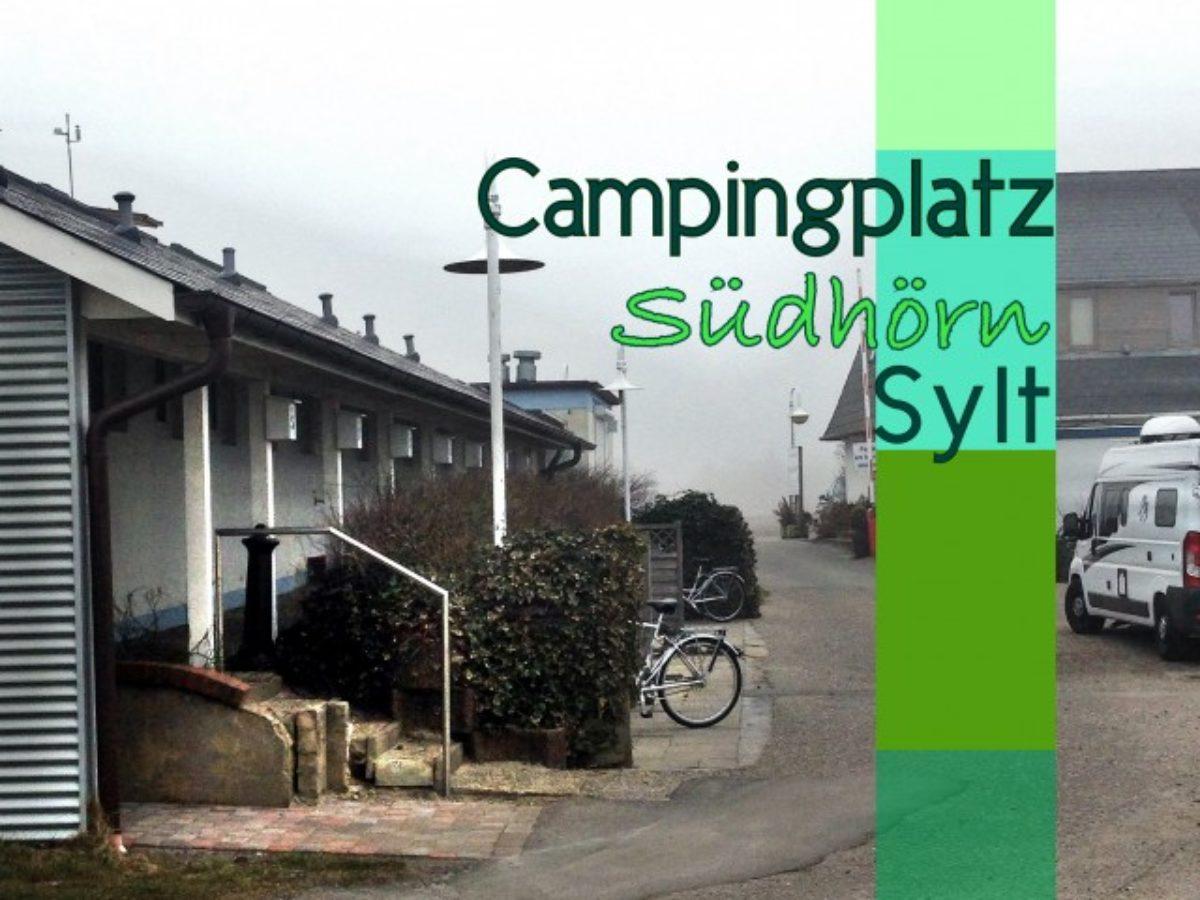 campingplätze sylt
