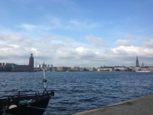 Stockholm weg in die Altstadt