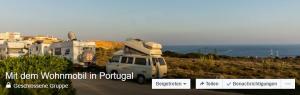 Gruppenbild Mit dem Wohnmobil in Portugal