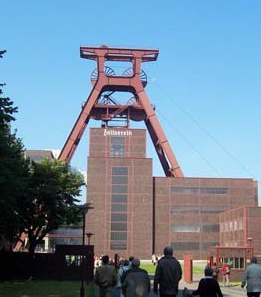 Eingang Zeche Zollverein