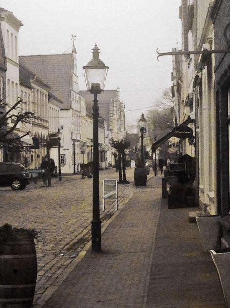 Die Innenstadt auf alt