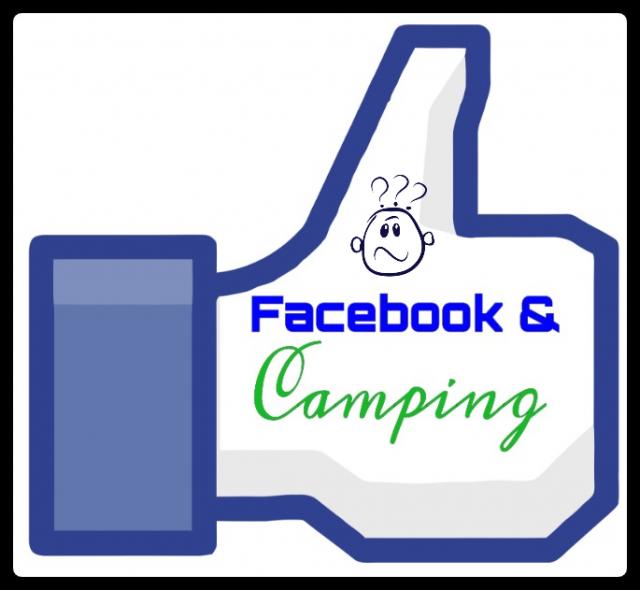 Facebook und Camping
