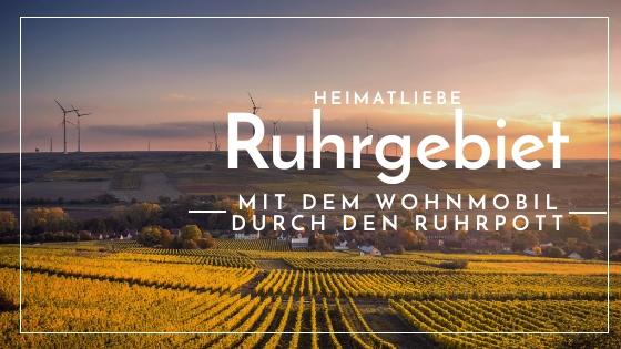 Ziele einer Wohnmobil Ruhrgebiet Tour