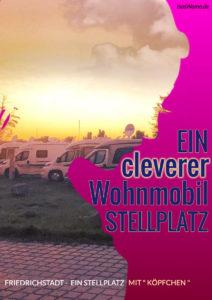 Friedrichstadt ein Stellplatz mit System