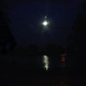 Aaaabsolute Stille , Nachts an der Mecklenburgischen Seenplatte