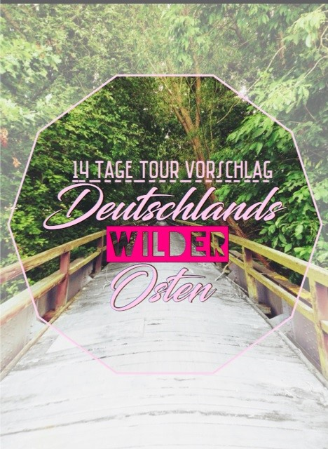 Tourplan Womo Ostdeutschland  Tour