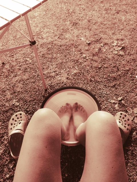 Warm war es... :-)