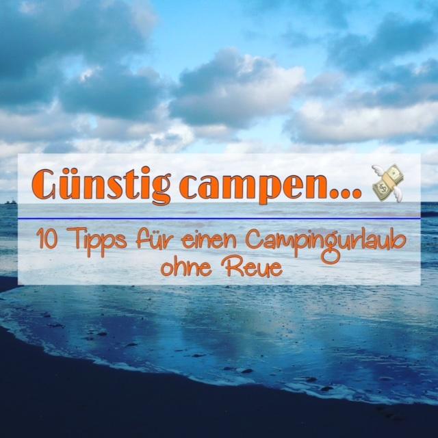 Günstig campen - 10 Tipps