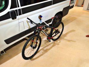 Fahrradständer für Wohnmobile