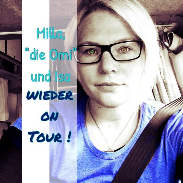 Milla, die Omi und ich! Endlich auf Womo Tour !