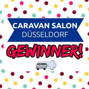 Gewinner Caravan Salon Tickets