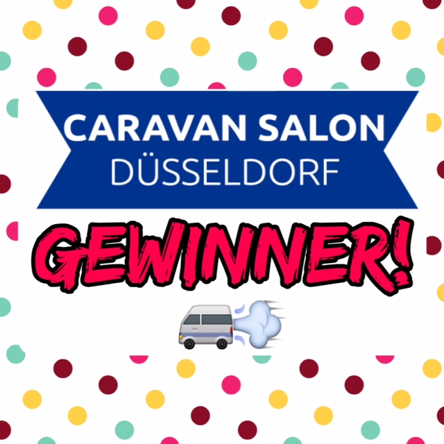 """Gewinner der """" Caravan Salon Tickets """""""