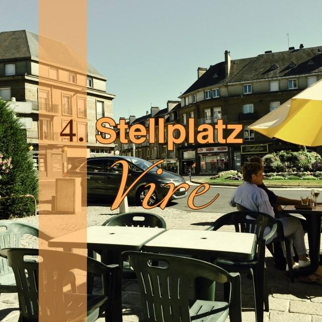 """Stellplatz Nr.4  auf der """"Le Toure 2016"""" – Vire"""