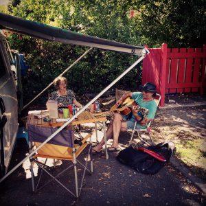 Camping und Singen !