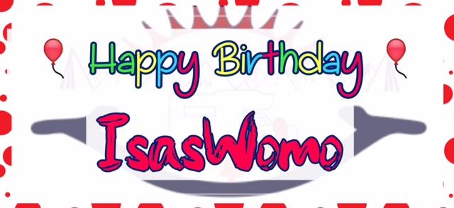 Happy Birthday, IsasWomo wird 1 Jahr !