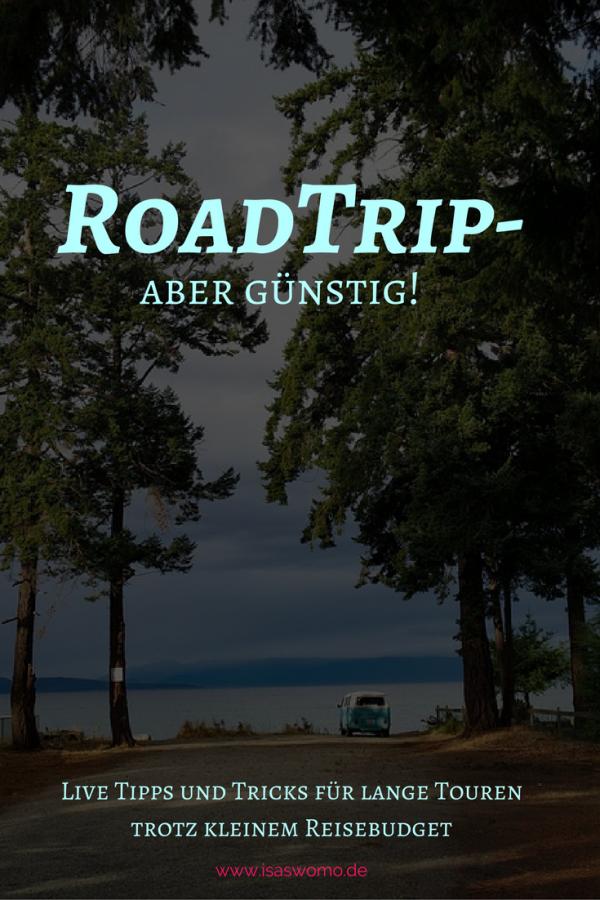 Reisen mit wenig Geld, Road Trips sind perfekt!