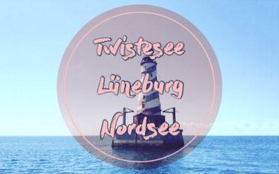 Vom Twistesee, über Lüneburg zur Nordsee