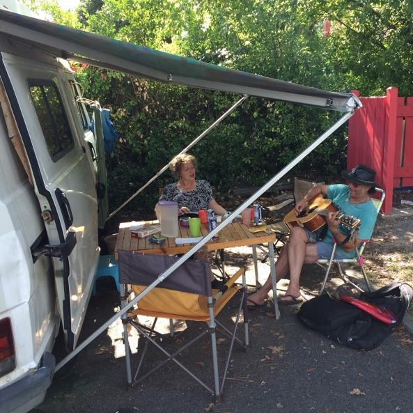 10 Ampere Camping-Haken in Frankreich