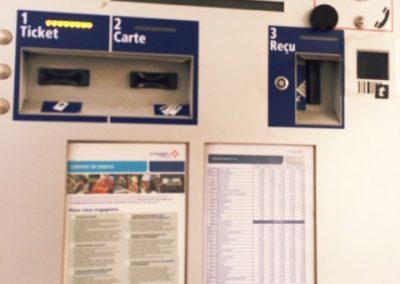 """Maut so gehts, der obere Teil des """"doppelten"""" Zahlautomaten für höhere Autos/ LKW's. Welchen ihr nutzt ist egal!"""
