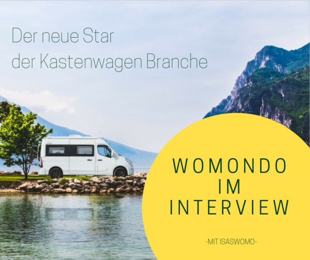 Der neue der Wohnmobil Branche- ein Interview mit Womondo