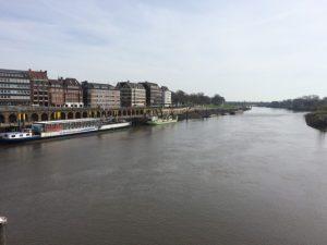 Wohnmobil Stellplatz Bremen und die Weser