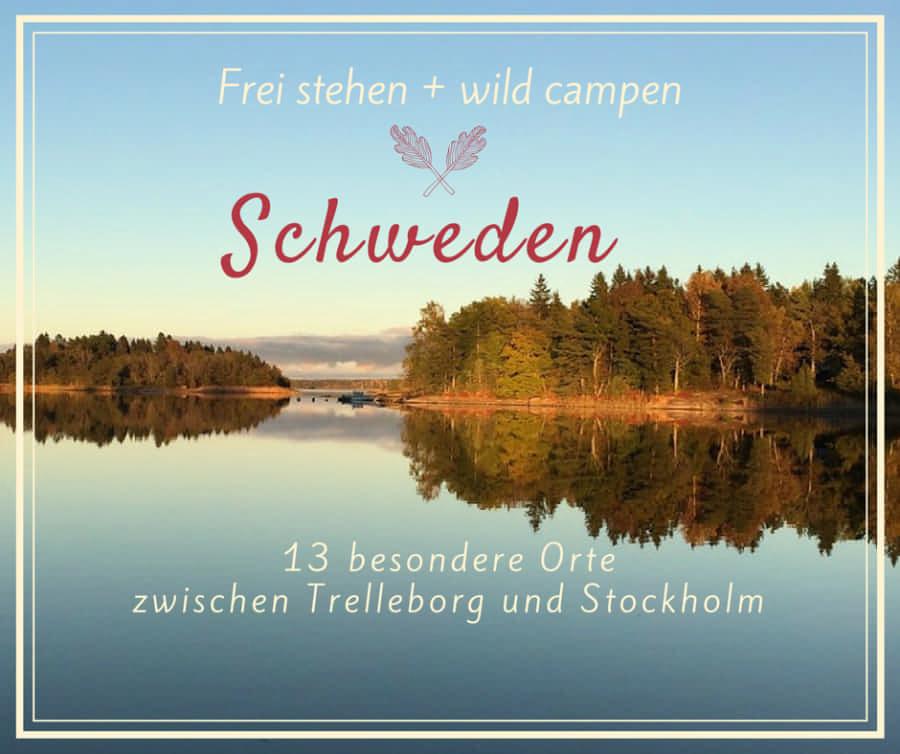 13 Orte zum frei stehen in Schweden