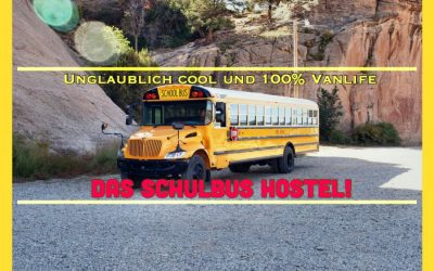 Wohnmobil Reisen für alle – Das coole Schulbus Hotel!