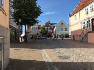 Haderslev eine schöne kleine Stadt