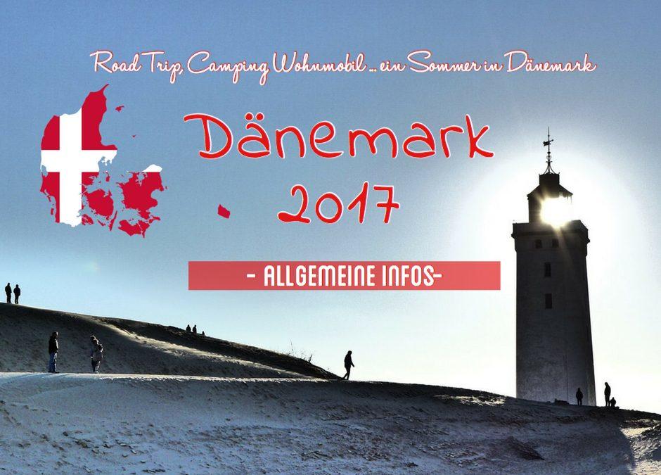 Allgemeine Infos zu Dänemark und meiner Reise