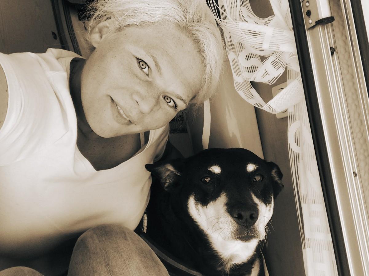 Isabel und Milla, Camping mit Hund