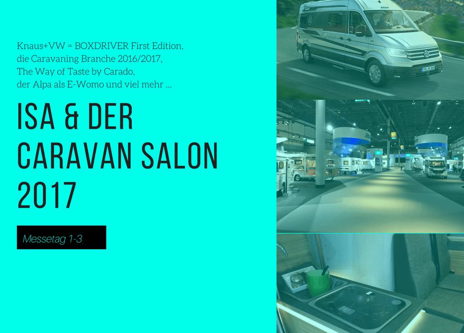 Der Caravan Salon 2017 – Highlights der ersten Messetage