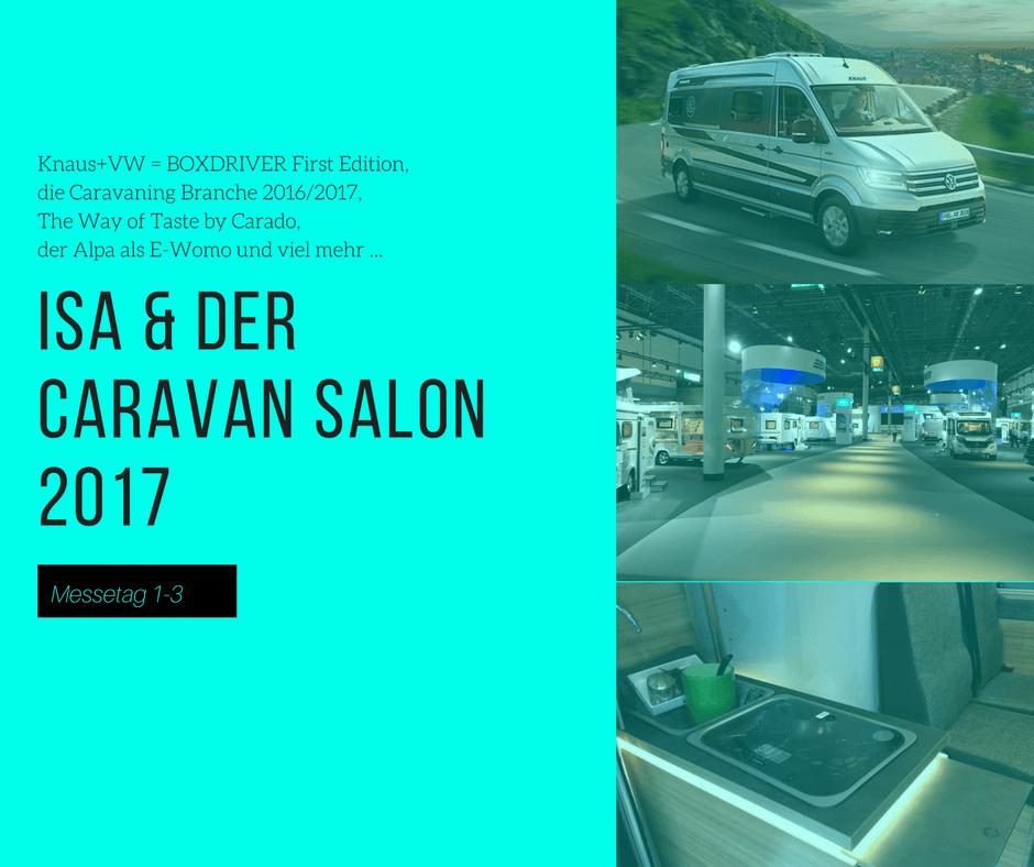 Der Caravan Salon 2017 mit IsasWomo