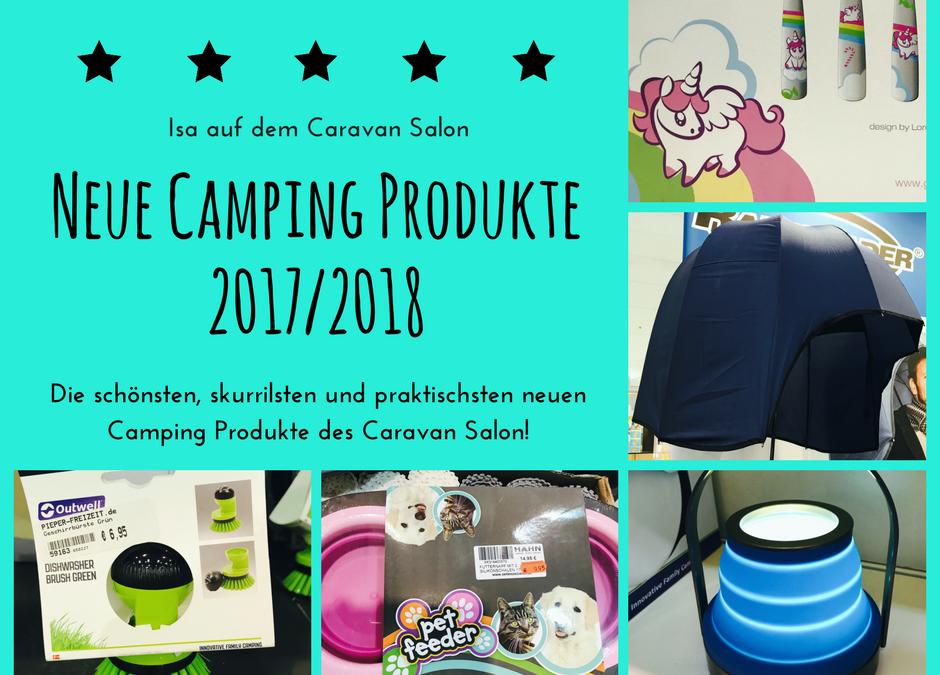 Neue Camping Produkte – Schöne und skurrile Caravan Salon Highlights