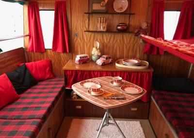 Oldtimer Caravan in wunderschönem Zustand