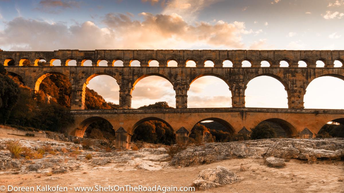 Campingplatz am Pont du Gard