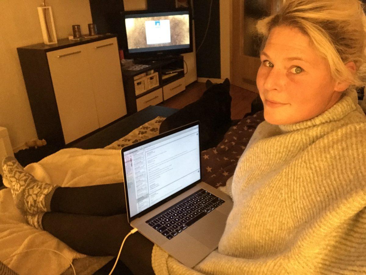 Bloggen und arbeiten von zuhause