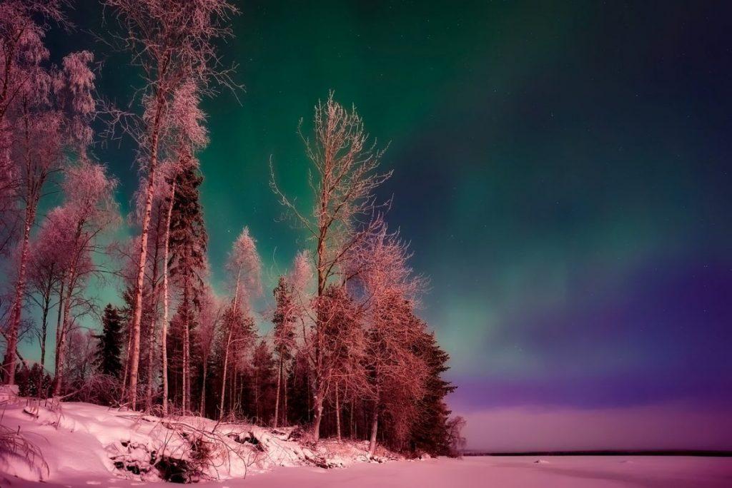 Ungewöhnliche Camping Länder Finnland