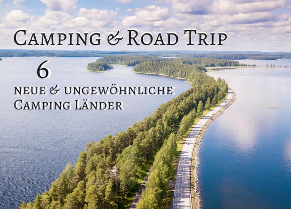 Besondere Reiseziele für Camper