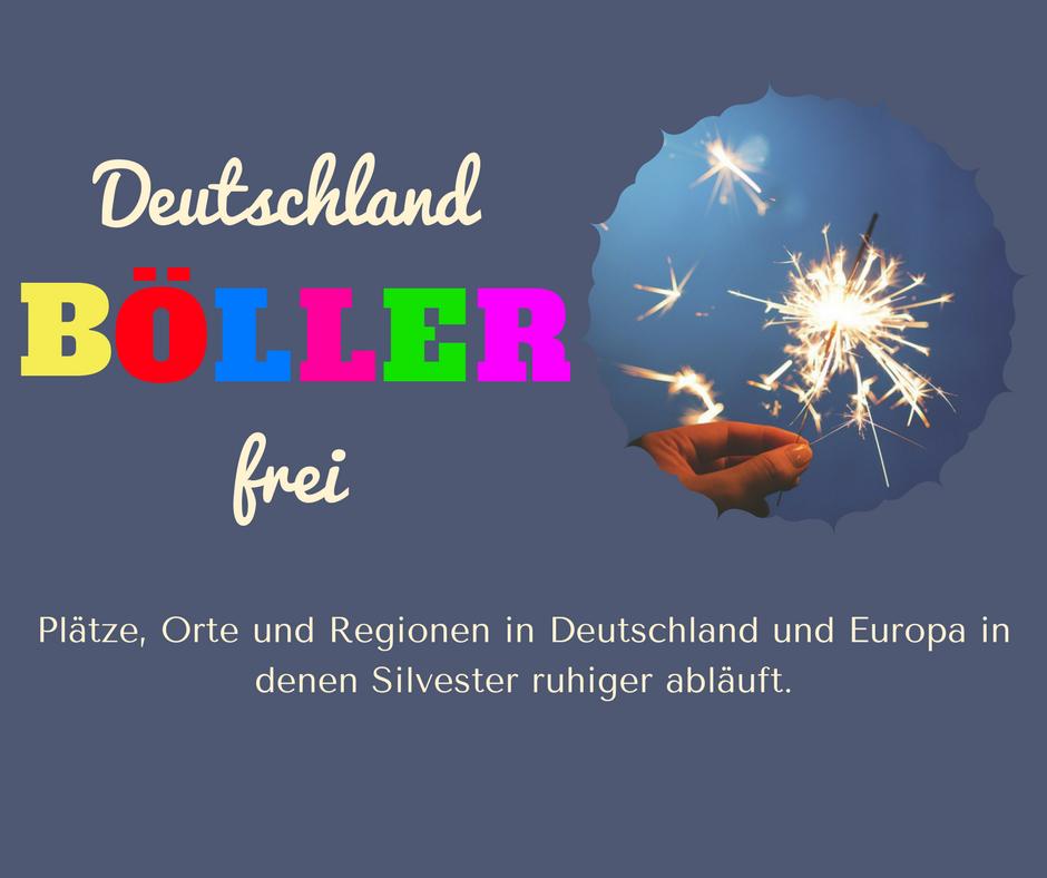 Silvester ohne Feuerwerk in Deutschland - an diesen Orten kannst Du und Dein Hund den Jahreswechsel in Ruhe genießen