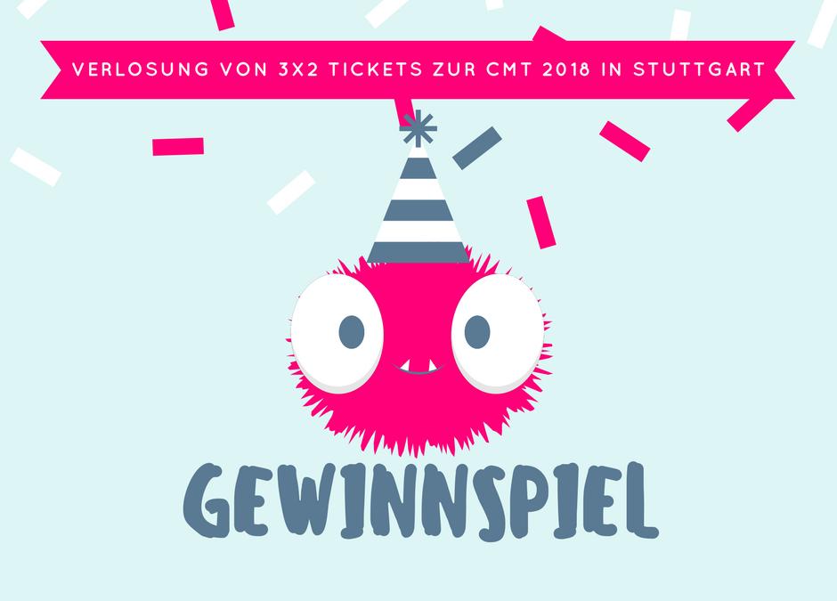 Tickets zu gewinnen – 3×2 Tickets für die CMT in Stuttgart